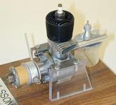 Рис.10 Двигатель Ohlsson выпуска 1947г. Рабочий объем .23.