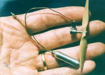 Рис.14 Двигатель Брауна на сжатом CO2, 1969г.