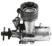 Рис.6 Один из первых двигателей McCoy. Владелец экземпляра Dave Gierke, США.