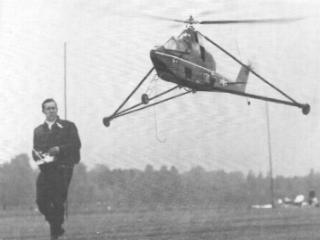 К такой схеме головки главного ротора Шлютер пришёл после ряда экспериментов и пробных подлётов.