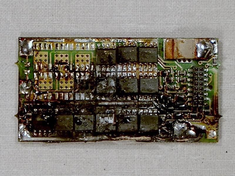 Схема электрическая принципиальная компьютерной клавиатуры.
