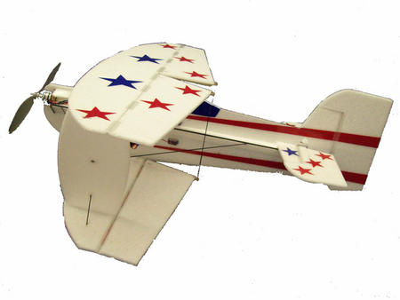 Как сделать летающий самолет на моторчике