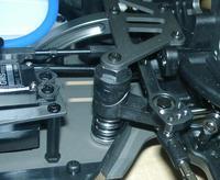 Рулевой механизм – регулируемая защита сервомашинки и усиленная рулевая рейка.